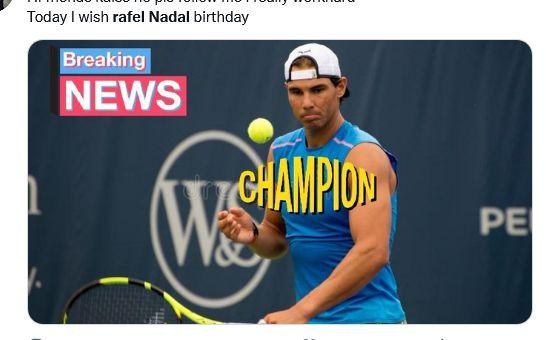 Rafael Nadal Biography Marathi