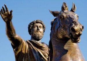 Marcus Aurelius Biography Marathi