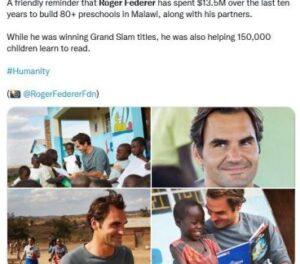 Roger Federer Biography in Marathi
